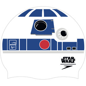 speedo Star Wars Slogan Print Cap Unisex, white/blue